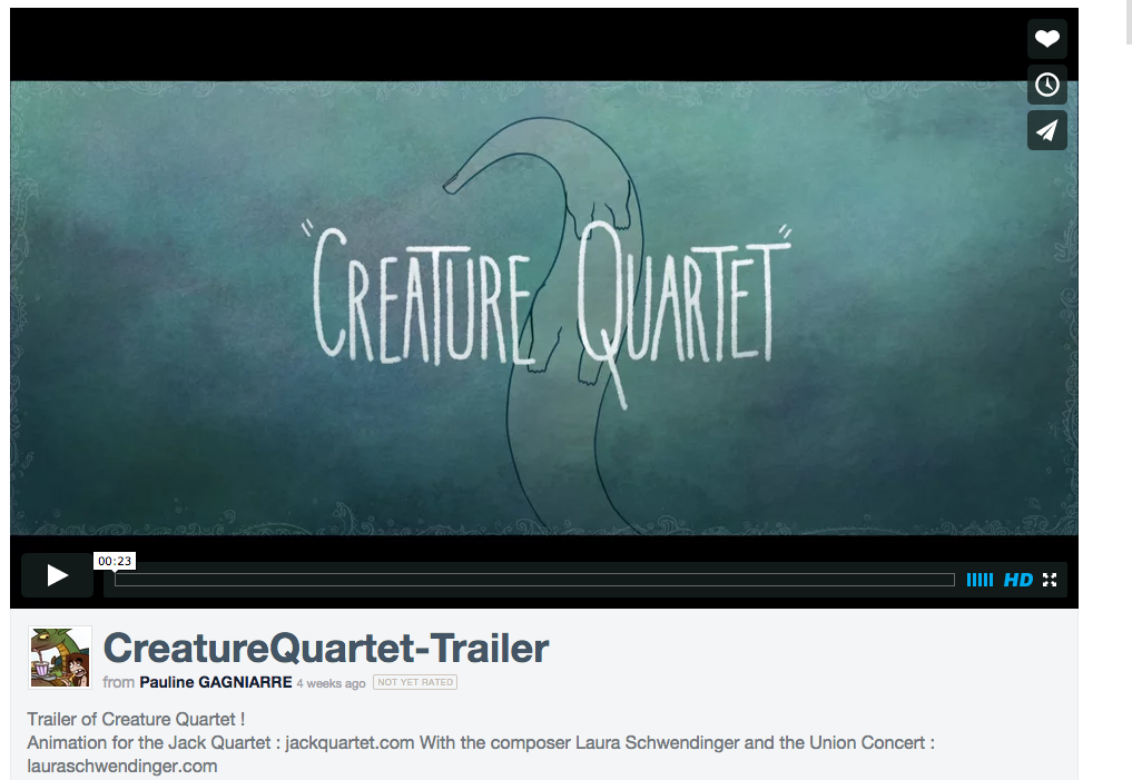 Creature Quartet still 2