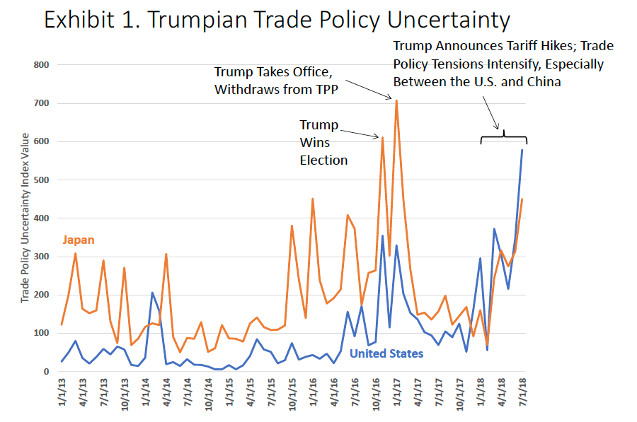 """Guest Contribution: """"Trump's Trade Policy Uncertainty Deters Investment"""""""