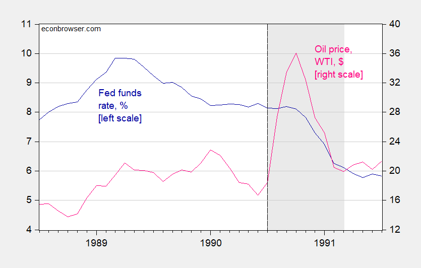 The 1990-91 Recession | Econbrowser